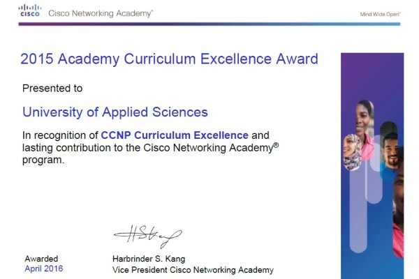 CCNP 2015 Excellence